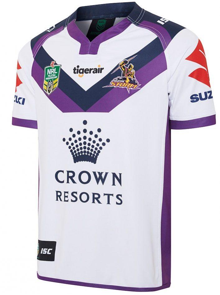 Melbourne Storm NRL 2019 ISC Camisas de local y visitante