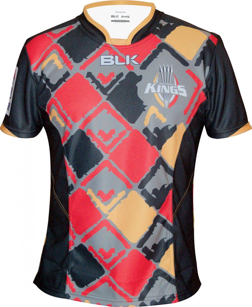Southern Kings BLK Super Rugby 2016 Local y visitante Camisas